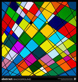 абстрактный фон красочные геометрический — Cтоковый вектор