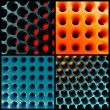 Honeycomb 3d structure — Stock Photo #42946433