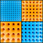 Abstract 3d honeycomb structure — Stock Photo