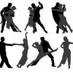 Tango Dancers — Stock Vector #30225389