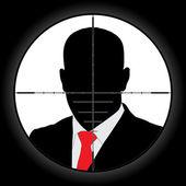 Sniper Scope — Stock Vector