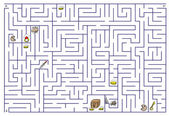 Labirinto. — Vettoriale Stock