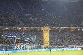 The HSV Arena during the Game Hamburg vs. Frankfurt — Stock Photo