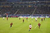 The Football Game Hamburg vs. Frankfurt — Stock Photo