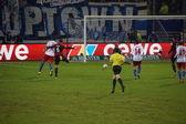 Le Hambourg jeu football vs Francfort — Photo
