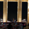 Stock Photo: Brandenburg Gate with stretch car