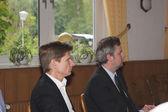 Sebastian Blumethal, Member of the Bundestag, together with Dr. Heiner Garg, former Social Affairs Minister and Deputy Prime Minister of Schleswig-Holstein — Stock Photo