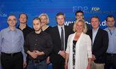 The new district board of the FDP Kiel — Stock Photo