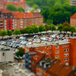 Tilt Shift Kiel — Stock Photo