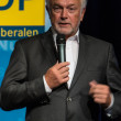 The famous FDP politician and parliamentary candidate Wolfgang Kubicki — Stock Photo