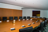 The Cabinet Room inside the Chancellery Building in Berlin-Mitte — Stock Photo