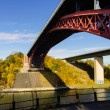 Stock Photo: Levensauer High Bridge