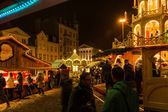 Christmas Market at Flensburg — Foto de Stock