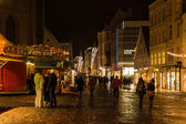 Christmas Market at Flensburg — 图库照片