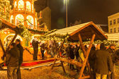 Christmas Market at Flensburg — Stock Photo