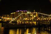 Kiel ışıklı manzarası — Stok fotoğraf