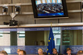 All'interno del Parlamento europeo — Foto Stock