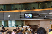 Inside the European Parliament — Stock Photo