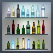Royalty-Free Stock Imagen vectorial: Bottles