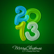 Merry Christmas and Happy New Year 2013 — Stock Photo #16420055