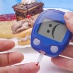 Funny Blood Sugar Test — Stock Photo #18380779