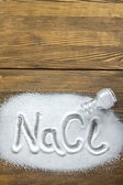 Sodium Chloride - Salt — Stockfoto