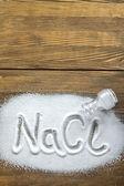 Sodium Chloride - Salt — Zdjęcie stockowe