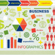 Stock Vector: Info graphic business