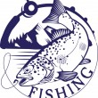 Fish set — Stock Vector