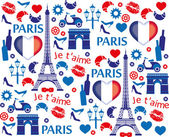 Paris love — Stock Vector