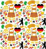 Germany background — Stock Vector