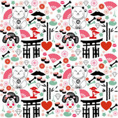 Japan pattern — Vector de stock