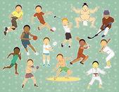 Sport anzeigen — Stockvektor