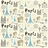 Paris illustration — Stock Vector