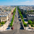 The Champs-Elysées. Paris. — Stock Photo