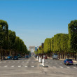 The Avenue des Champs-Élysées — Stock Photo