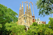 Sagrada Família. Barselona. Spain. — Stock Photo