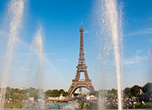 The Eiffel Tower. Paris. — Stock Photo