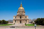 Kaple města saint-louis-des-invalides, paříž — Stock fotografie