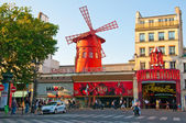 Moulin Rouge in Paris. — Stock Photo