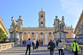 Capitoline Hill in Rome. — Stock Photo