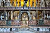 Interior of St Mark's Basilica in Venice, Italy. — Stock Photo