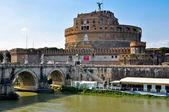 Castillo del santo ángel. rome.italy. — Foto de Stock