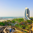 Stock Photo: View of Jumeirah Beach. Dubai.