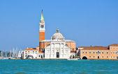 Church of San Giorgio Maggiore in Venice. — Stock Photo