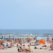 Stock Photo: Barcelona's beach.