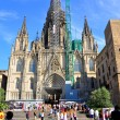 Stockfoto: Cathedral of Holy Cross and Saint Eulalia. Barcelona.