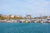 Barcelona Harbor. — Stock Photo