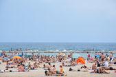 Barcelona's beach. — Foto de Stock