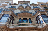 Facade of the building on Passeig de Gràcia. Barcelona. — Stock Photo